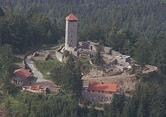 Burganlage Altnussberg Bayerischer Wald